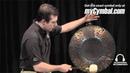 Matt Nolan Custom 22 Black Aluminum Solsbury Gong (MNC22SGA-1030411B)