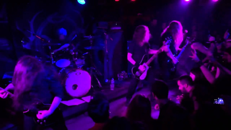 Primordial performs Where Greater Men Have Fallen {HD 60fps}, Live in Athens @ An Club 13.03.2015