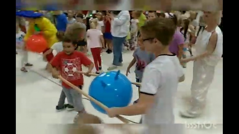 Детский праздник Незнайка в Спортландии