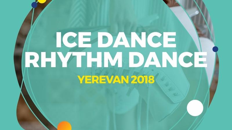 Emmy BRONSARD Aissa BOUARAGUIA CAN Ice Dance Rhythm Dance Yerevan 2018