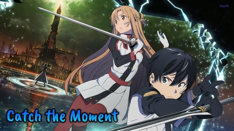 『Lyrics AMV』SAO Movie -Ordinal Scale- Theme Song - Catch The Moment / LiSA