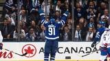 John Tavares goes top shelf in Maple Leafs debut!