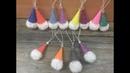 DIY: How to make Pom pom Gnome ornaments