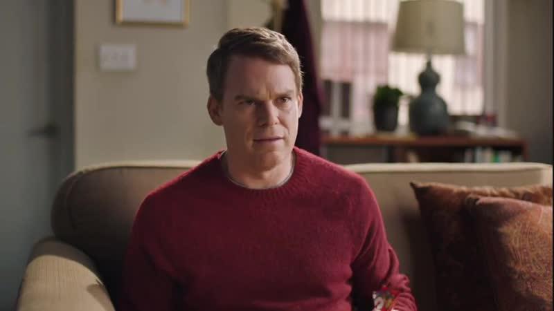 Michael C. Hall in the Skittles ad (Майкл С. Холл в рекламе Скитлс)