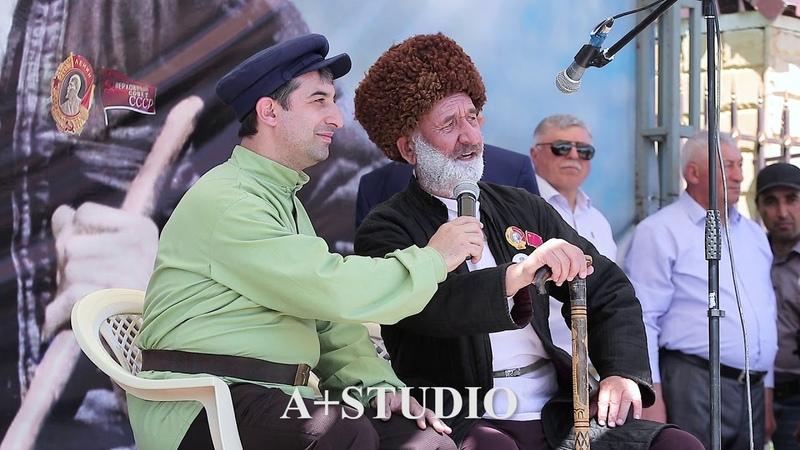 сценка Сулейман Стальский и его сын Мусаиб