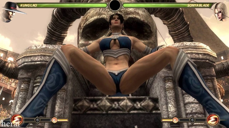 KITANA TOOK OVER SHAO KAHN THRONE