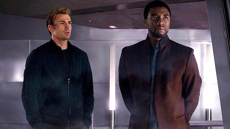 Steve Rogers T'Challa - Wakanda Scene (End Credits) Captain America: Civil War - Movie CLIP HD