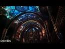 Красочное световое шоу в базилике Нотр Дам Монреаль 2018