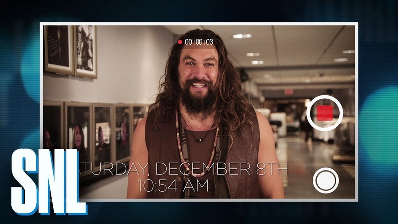 Jason Momoa's SNL Video Diary