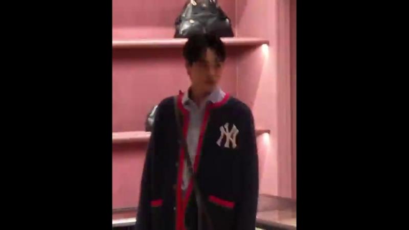 [fancam] 180703 @ Gucci Renewal Open Store Event / Kai