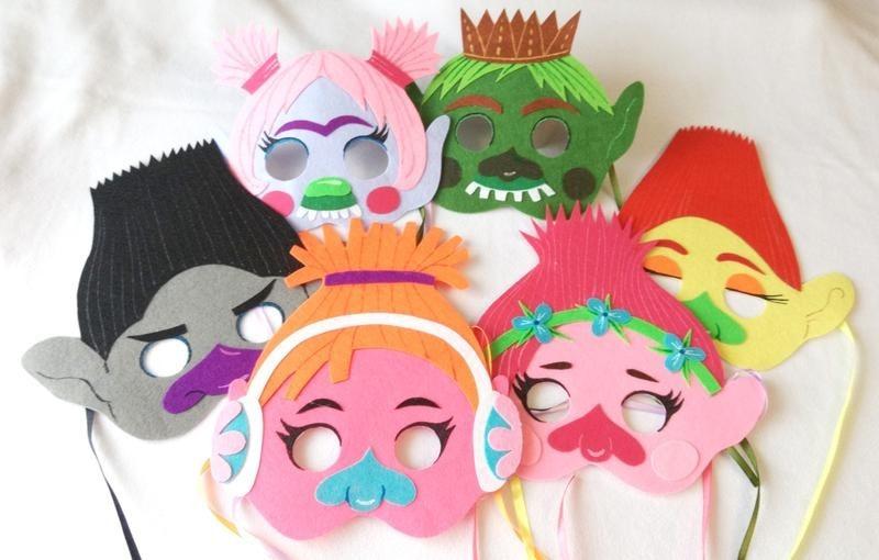 Удивительные маски