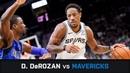 DeMar DeRozan's Highlights 34 PTS 9 AST 3 STL Clutch vs Mavericks 29 10 2018