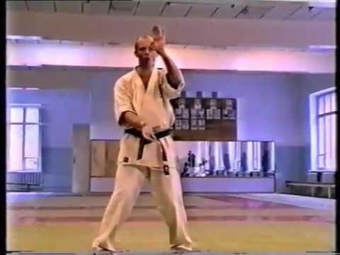 Школа Киокушинкай Учебный фильм Часть 3 School Of Kyokushin A training film Part 3