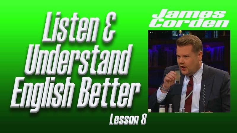 English Listening Practice | Lesson No.8 James Corden Steven Tyler