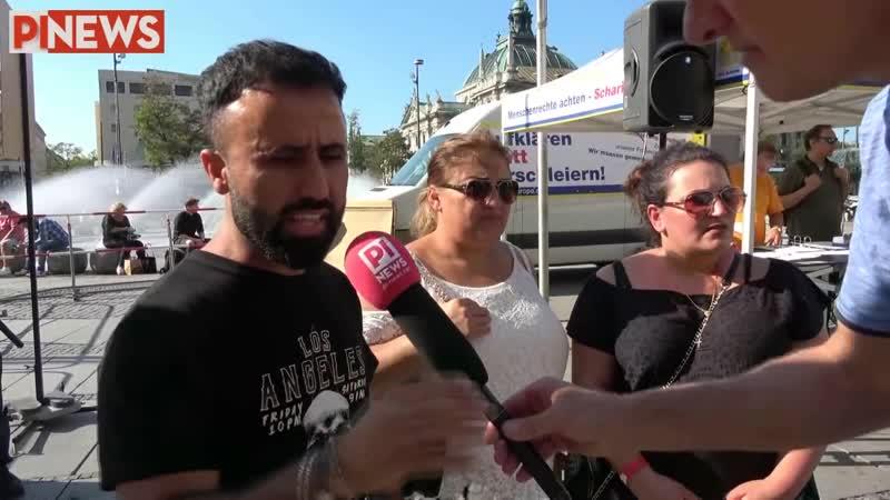 Christinnen und Jeside aus Irak warnen vor Islam in München