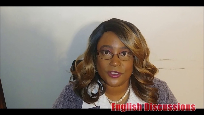 English Discussions: Our teacher Jenne' Wells from the USA: Learn English with us!