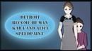Detroit: become human. Kara and Alice | SPEEDPAINT