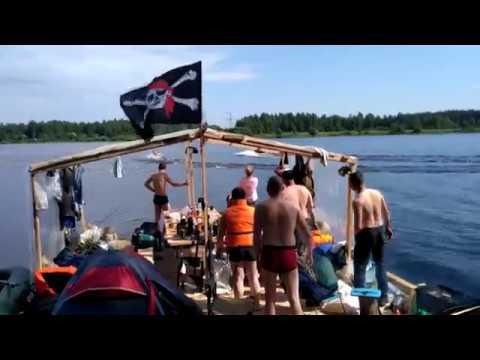 Бухлоход V10 Ковчег - Остров Свободы (Сплав по реке на плоту)