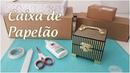 Ideia incrível com caixa de papelão Vale a pena reciclar Viviane Magalhães