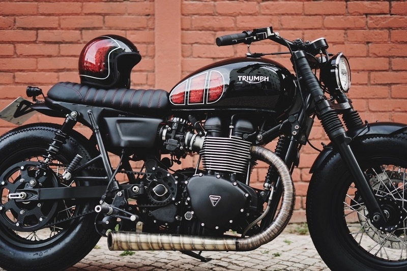 Unik Edition: боббер Triumph T100 Bonneville