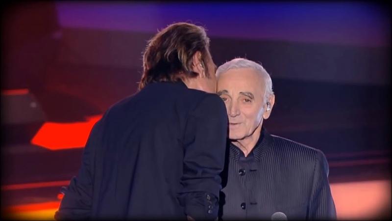 Aznavour pour Johnny Nous nous reverrons un jour ou lautre