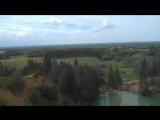 07.07.2018 год Вид с обрыва над озером на заповедную часть ГПНП Марий Чодра и на долину реки Илеть