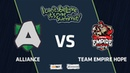 Alliance vs Team Empire Hope, Game 3, Playoff, I Can't Believe It's Not Summit