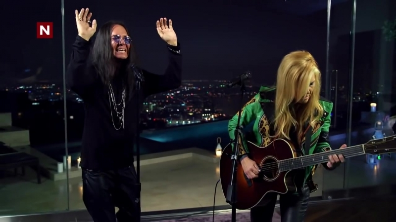Ozzy Osbourne and Lita Ford- Close my eyes forever