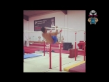 Top Olympic Gymnast Training Courtney Tulloch - Road to Future Champion 2018!