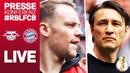 LIVE 🔴 | FC Bayern Pressekonferenz mit Neuer Kovac vor dem DFB-Pokalfinale gegen RB Leipzig