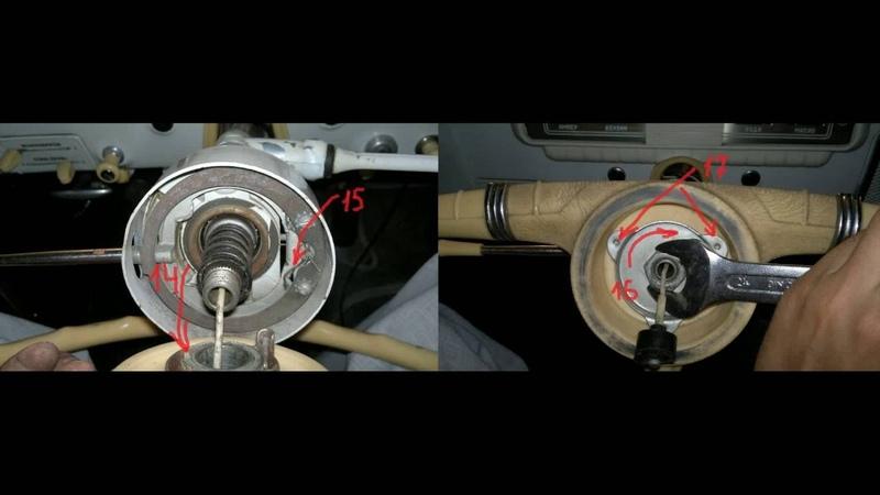 Как снять руль ГАЗ 21