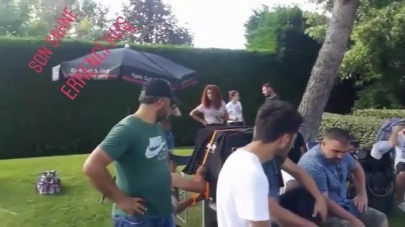 Видео со съемок сериала