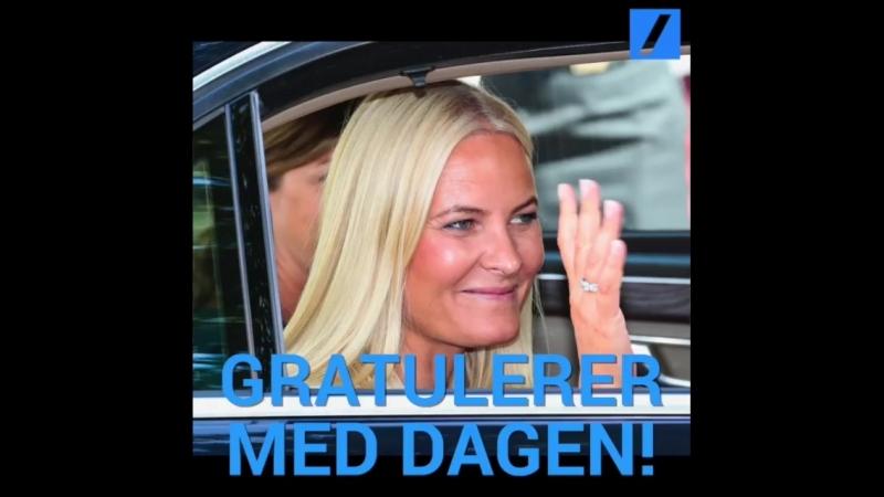 Gratulerer med dagen Kronprinsesse Mette Marit 🎉