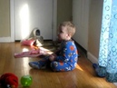 Ethan 21 months before autism diagnosis