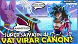 O SUPER SAIYAJIN 4 VAI VIRAR CAN