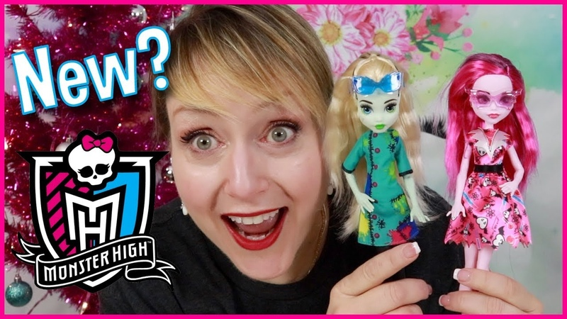 NEW MONSTER HIGH Voltageous Science Frankie and Draculaura Doll Review