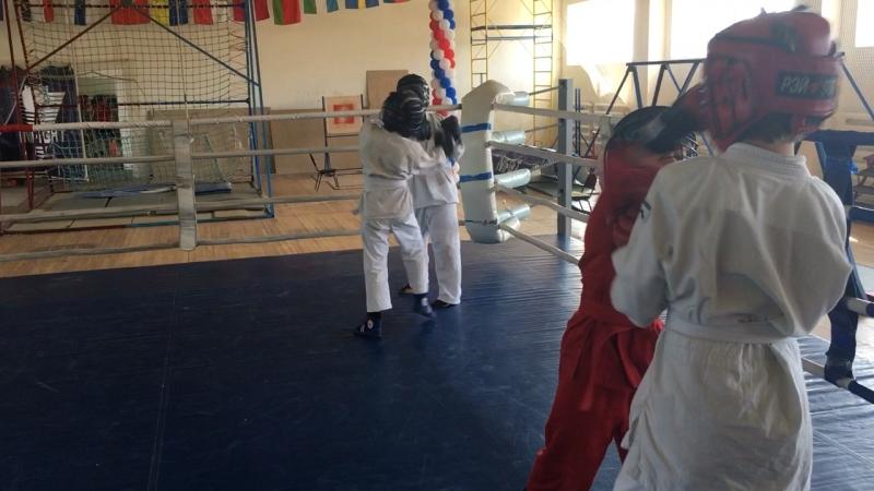 Медынь 28.08.18 тренировка в ринге