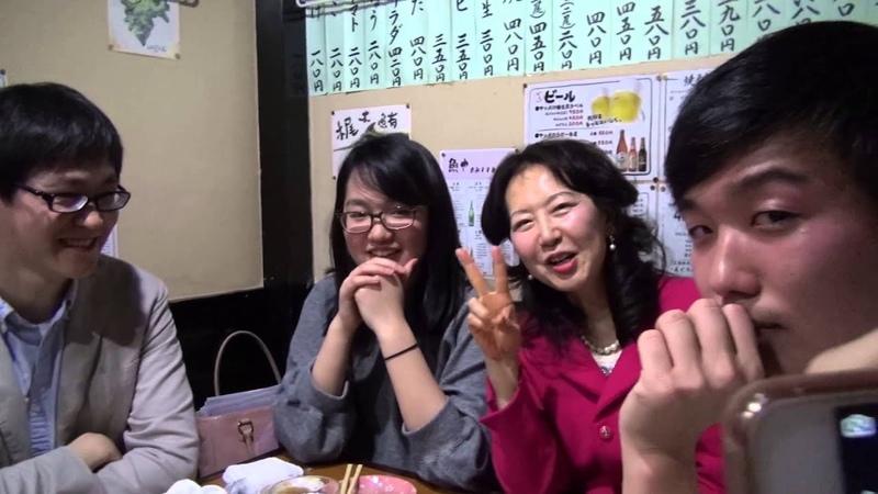 JAPAN КАК ЯПОНЦЫ С РУССКИМИ ВЫПИВАЮТ САКЭ в JapaneseTaverna Tokyo Japan