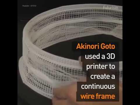 This 3D printed zoetrope creates a mind-blowing illusion! إضاءات ثلاثيه الأبعاد
