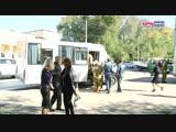 Эвакуация пострадавших при взрыве в колледже Керчи