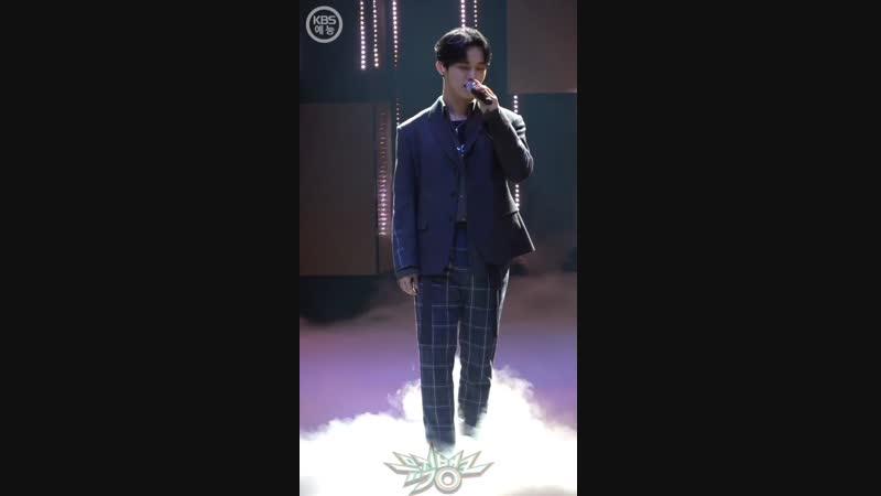 FANCAM 23 11 2018 BTOB Beautiful Pain Фокус на Хёншика @ Music Bank
