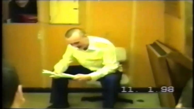 603 экипаж. 11.01.1998. Фрагмент концерта на День Вахтенного инженер- механика. Автономка декабрь 1997-март 1998 г.г.