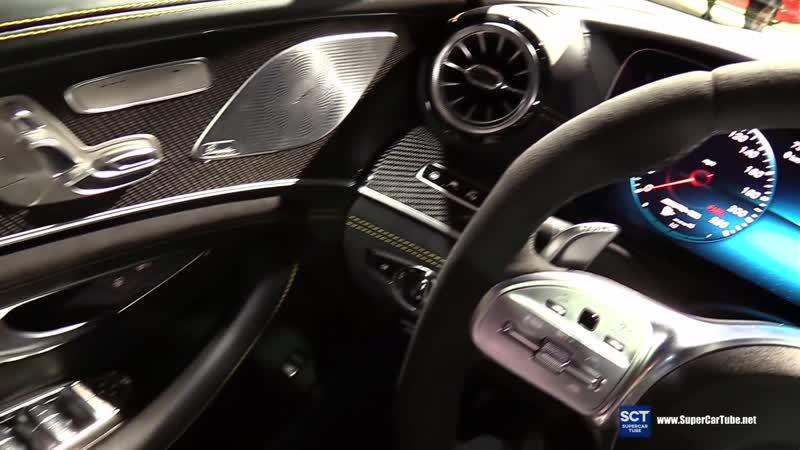 2019 Mercedes AMG GT 63 S 4 Doors Coupe - Exterior Interior Walkaround - 2018 LA Auto Show