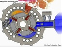 Motor Rotary Engine 2D animation fuel saving New