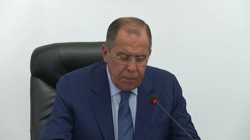 Пресс-конференция по итогам переговоров С.Лаврова и И.Црнадака