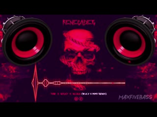 Taw, mylky, m.i.m.e - renegades (w.a.v x nin9 remix) (bass boosted)