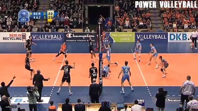 ALL TEAM ATTACK ● Beautiful Volleyball Actions (HD) 2