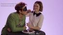 ПЕРЕВОД: Кей Джей Апа и Майя Митчелл играют в Kiss Tell