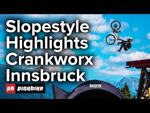 Slopestyle Crankworx Innsbruck 2018 - FULL Highlights