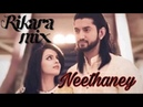 Neethaney lyric video | Rikara Mix | ishqbaaaz